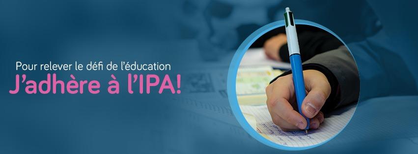 J'adhère à l'IPA